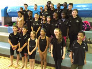 Our M11 League swimmers