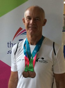 Three Bronze medals for Colin Mayes